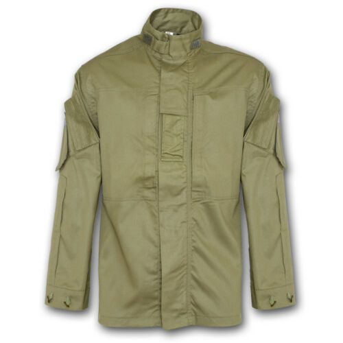 BRITISH ARMY STYLE PCS SHIRT OLIVE GREEN BLACK COYOTE MILITARY SECURITY SOLIDER