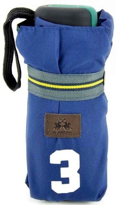Paraguas La Martina Saddlery paraguas blue marino Hombre women plegable 015082