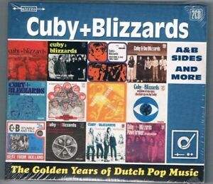 Cuby-amp-the-Blizzards-The-Golden-Years-Of-Dutch-Pop-Music-Doppel-CD-Neuware
