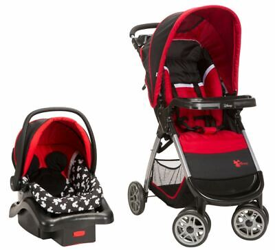 Baby Stroller And Car Seat Combo Girl Boy Travel System ...