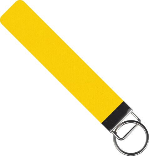 Filz Schlüsselanhänger Lasergravur Wunschtext 4mm 20mm x 100mm Ösen 40 Farben