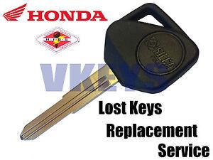 Honda Hiss Lost Key Replacement Service Cbr6009009751000