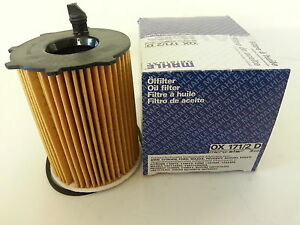 ford fiesta fusion 1 4 tdci 1 6 tdci mahle oil filter ox171 2d 2002 13 ebay. Black Bedroom Furniture Sets. Home Design Ideas