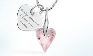 Pink-heart-necklace-with-engraving-heart-shaped-crystal-Swarovski-elements-love