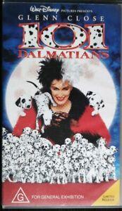 101-Dalmatians-Walt-Disney-Pictures-1996-Glenn-Close-Children-039-s-Pal-VHS