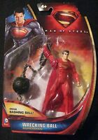 Superman Man Of Steel Mega Bashing Ball Wrecking Ball Superman Mattel 2013