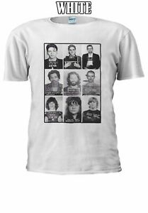 Celebrities Mugshot Prison Guilty T-shirt Vest Tank Top Men Women Unisex 2275