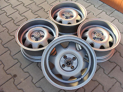 Alufelgen made in italy (ATS) 15. 4x100 7j et 25  vw gti polo