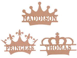 Personalised-Wooden-MDF-Crown-Craft-Blank-Shape-Memory-Box-Monogram-Crowns