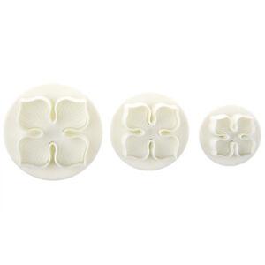 3-pezzi-laurustinus-Hydrangea-mestiere-dello-zucchero-Cake-Decorating-tuf-X5I6