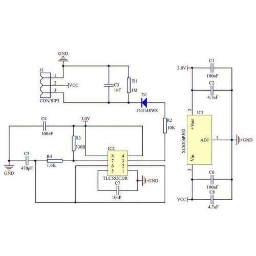 3pcs hygrometer soil moisture sensor Corrosion Resistant Plant watering Arduino