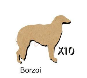10 Borzoi MDF découpes Porte-clés-enjoliver 5 Tailles Sans Trou dogw 093-ishing 5 Sizes FREE Hole DOGW093afficher le titre d`origine 7xAjFFRL-07223056-607490591