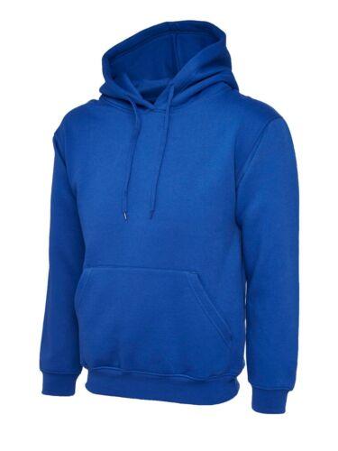 Classica felpa con cappuccio Felpa con cappuccio UC502 il casualwear Sportswear Royal Blue Medium