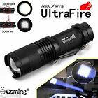 Ultrafire 5000LM Flashlight Zoomable CREE XM-L T6 LED Adjustable Torch Lamp Q5
