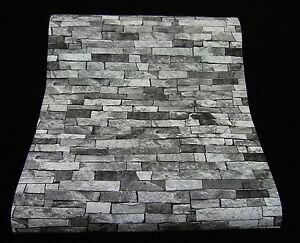 Das Bild Wird Geladen Holz Und Stein Tapete Klinker Riemchen Holzoptik In