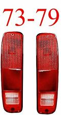 73 79 FORD Truck & Bronco 2Pc Tail Light Set F150 F250 74 75 76 77 78 Econoline