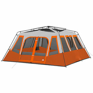 Instant Cabin Tent 14 Person Camping Outdoor Family 2 Room