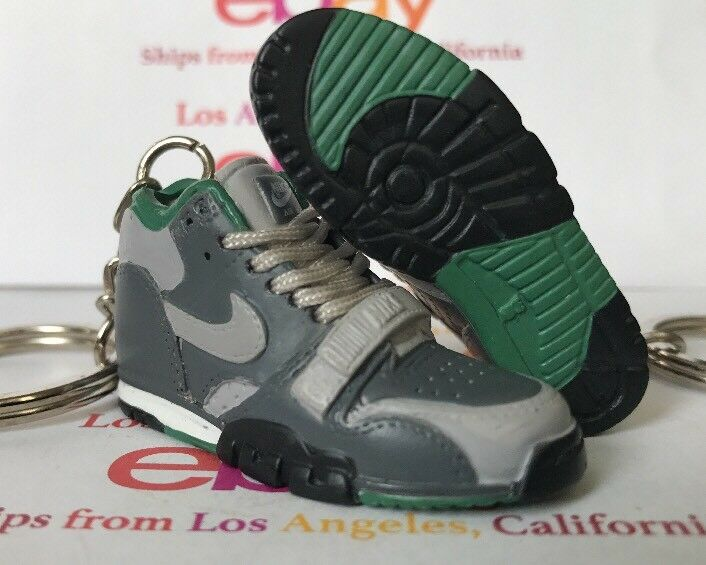 Air Max Trainer 1 Twisted Prep Keychain MED LACES Bo Jackson vet jag II