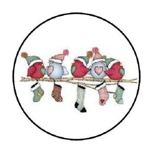48-CHRISTMAS-WINTER-BIRDS-ENVELOPE-SEALS-LABELS-STICKERS-1-2-034-ROUND