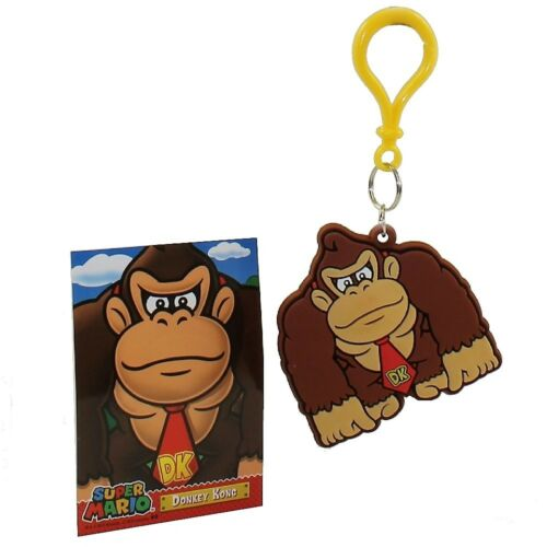 2.75 inch DONKEY KONG Hanger Clip /& Matching Card Enterplay Super Mario