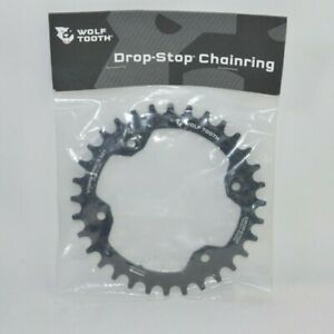 30T x 96 BCD for XTR M9000 New Wolf Tooth Components Drop-Stop Chainring