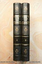 GENIE DU CHRISTIANISME (1358FC.7) F. DE CHATEAUBRIAND 1885  2 TOMES BERCHE ET TR