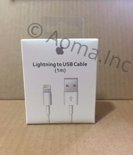 New Apple Lightning Cable USB Cable Charger iPhone 7 6S Plus 5 C SE 1//2M 3//6FT