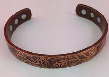 Men Women's Copper Magnetic Bracelet Arthritis Healing Therapy Energy Adjustable
