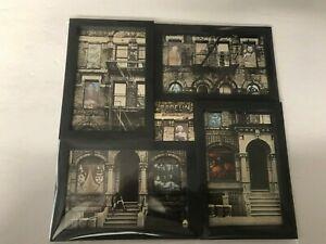 Led-Zeppelin-Physical-Graffiti-ART-11x11-Frame-HAND-MADE-Gift-Record-Jacket