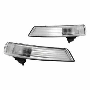 2x-Cubierta-de-Luz-Indicador-Espejo-Retrovisor-Derecha-Izquierdo-para-Ford-Focus