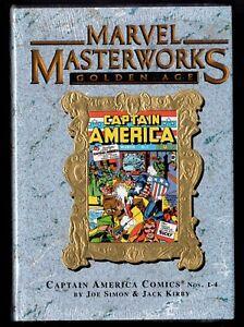 Marvel Masterworks Captain America Volume 1 HC Hard Cover Sealed