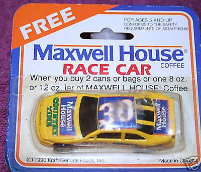 #30 MAXWELL HOUSE 1/64 SCALE MAXWELL HOUSE PROMO CAR