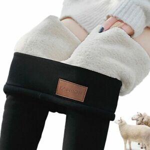 neu Winter Super dicke Kaschmir Leggings Winter enge warme Hose mit hoher Taille