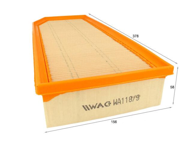WAG Filtro Aria WA118/9 A2045 1457433065 3014800 C38145 AP118/9
