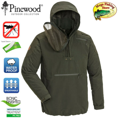 Outdoor Jacke mit Mosquito Netz  Jagd /& Angeljacke Pinewood 5270 Hemse Anorak
