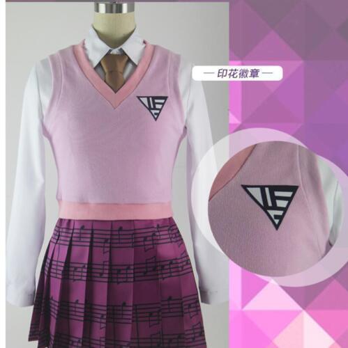 Akamatsu Kaede Of Anime Danganronpa V3 Uniform Skirt Cosplay Costume Suit