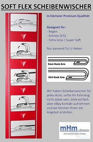 Hinten Mazda 5 1x Scheibenwischer SET Vorne CR
