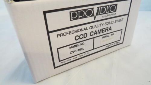 Speco CVC-100L B//W Indoor Camera with Audio 525 Lines 92.5º  Lens