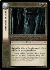LoTR TCG FoTR Fellowship Of The Ring Their Halls Of Stone FOIL 1C26