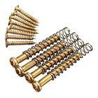 Set of Gold Humbucker Pickup Screws Kit Ring Frame Surround Mounting Accessories