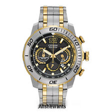 * NEW CITIZEN ECO-DRIVE WATCH for MEN * Primo Stingray 620 * Two Tone CA4084-51E