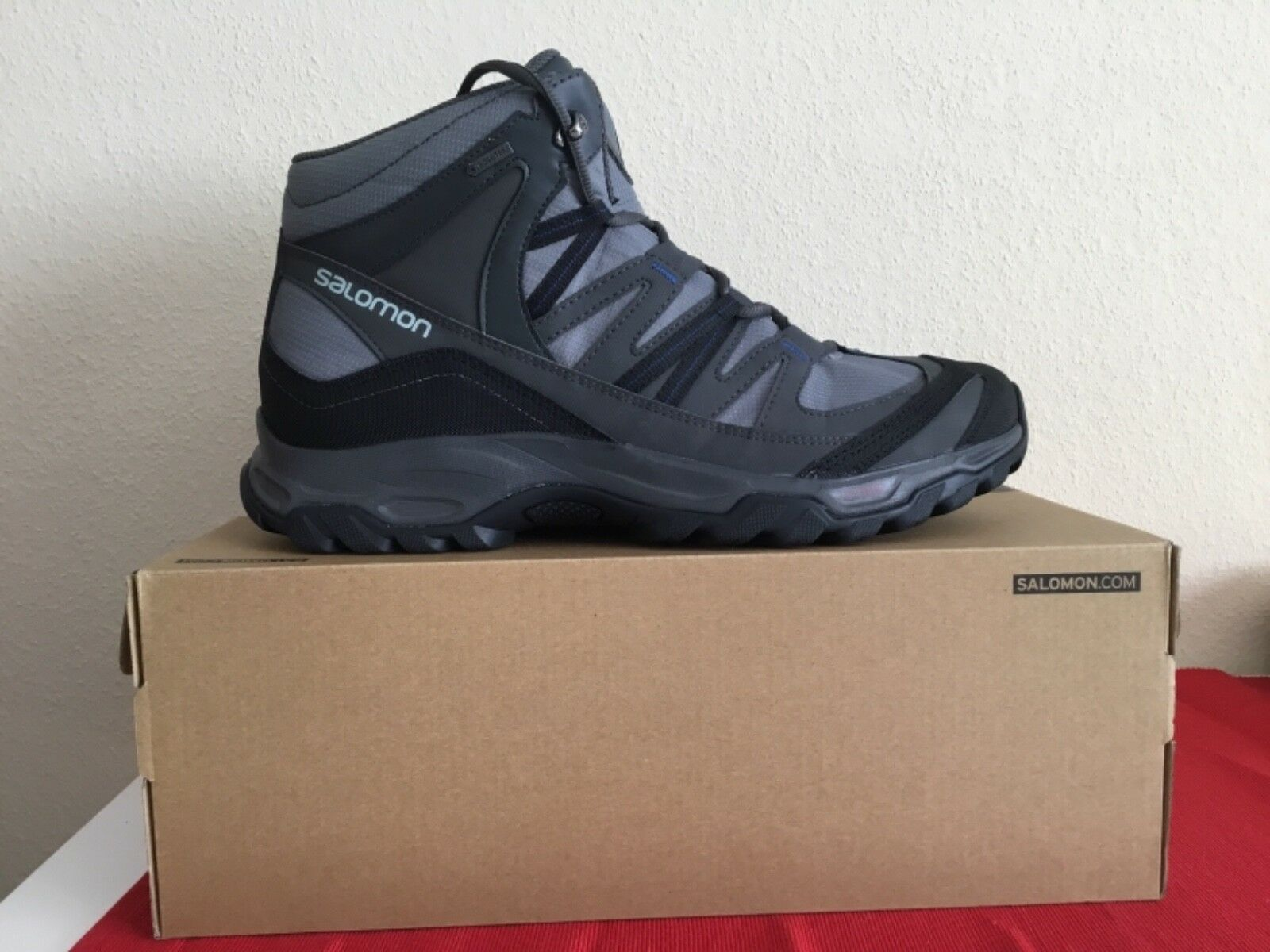 Salomon mudstone mid 2 GTX Hombre botín de senderisml botas talla  elegibles nuevo en caja de cartón