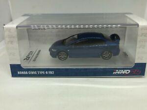 Inno-Models-1-64-Honda-Civic-Type-R-FD2-Bleu