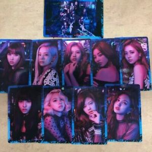 TWICE-5th-single-Breakthrough-official-photocard-10-complete-full-set-mina-momo