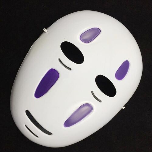 Anime Spirited Away Mask No-Face Man Halloween Party Costume Cosplay Fancy Props
