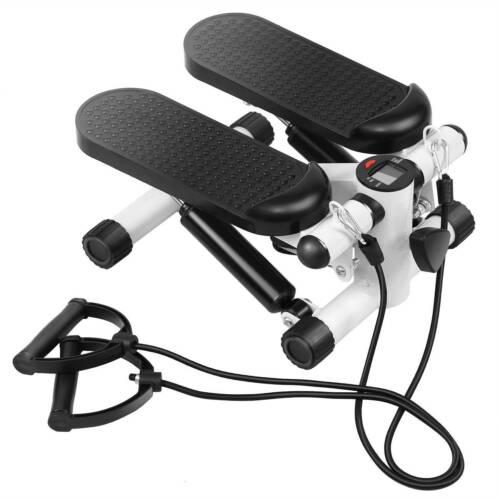 Swing Stepper mit Fitness Sport Mini Side Twister Computer Expander Heimtrainer