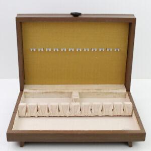 Vintage-International-Silver-CO-Bestecke-Aufbewahrungstruhe-Box