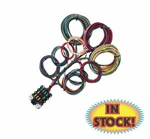 kwik wire 14 circuit budget wire harness 14bg ebay rh ebay com Kwik Wire Quickwire in Push