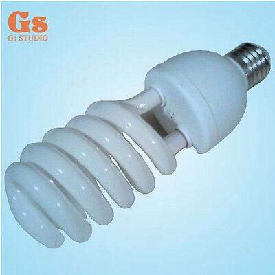 Tri-phosphor light bulb 45watt 5500K 220V E27 photo video studio daylight bulb