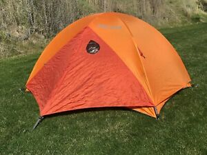 Marmot Limelight 3 Person Hiking Dome Tent For Camping W